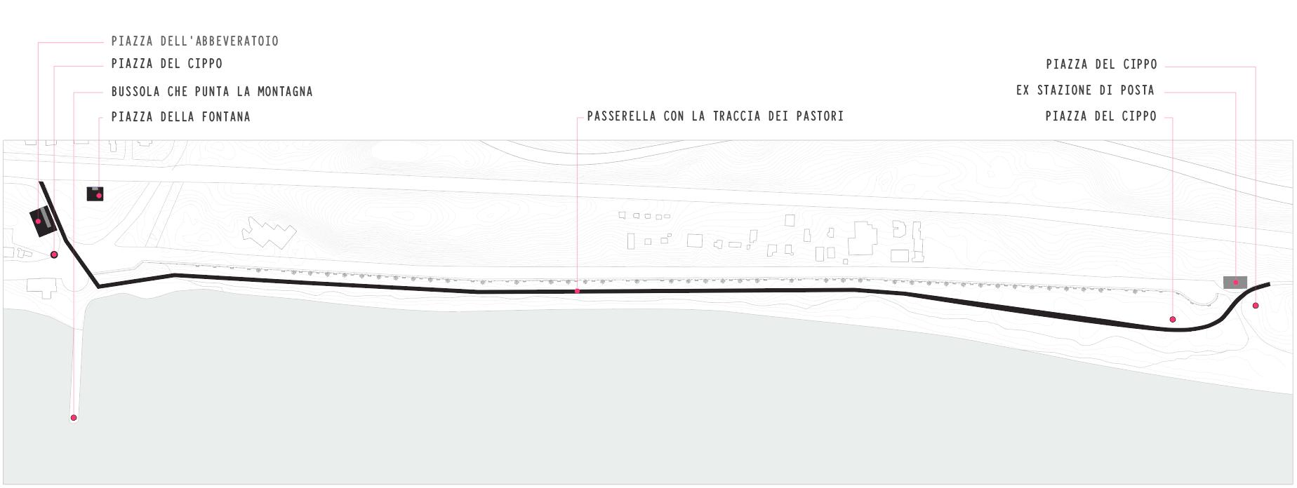 planimetria progetto tratturo
