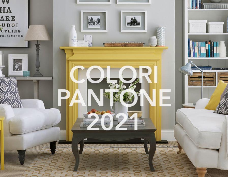 colori pantone 2021 nelle nostre case